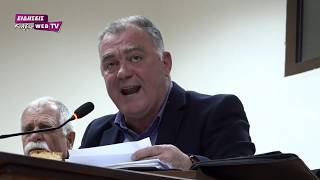 Νέα αντιπαράθεση Γκουντενούδη-Σιωνίδη στο δημοτικό συμβούλιο Παιονίας - Eidisis.gr webTV