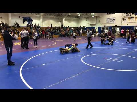 Ruben's 1st match-120lbs_Al Smith Tourney 12/27/2019 from YouTube · Duration:  2 minutes 24 seconds