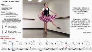 Scotch Measure - A bridge between Dance and Music