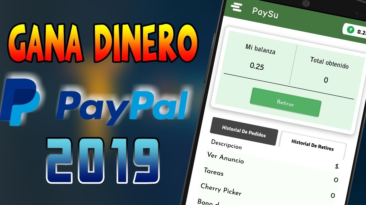 Paysu Nueva App Para Ganar Dinero Paypal 2019 Ronny Youtube
