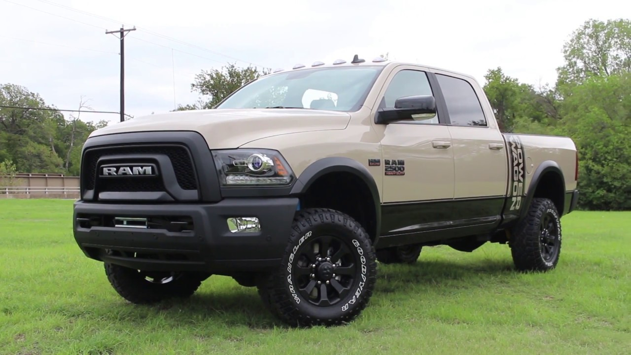 2018 Ram Power Wagon >> 2018 Limited Edition Ram Power Wagon Mojave Sand