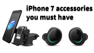 Cool iPhone7 and  7 plus Accessories you should have