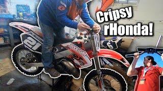 Cr125 Build REVEAL | Cali Supercross Extra Clips!