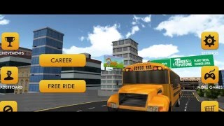 School Bus 3D Now Available on Google Play!