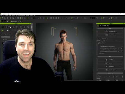 Character Creator 3 and Blender