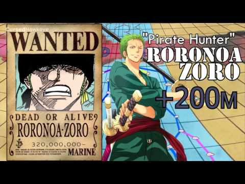 ONE PIECE NEW BOUNTIES STRAWHAT PIRATES + NEW POSTERS ...