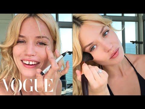 Model Georgia May Jagger's Guide to Easy Beach Beauty  Beauty Secrets  Vogue