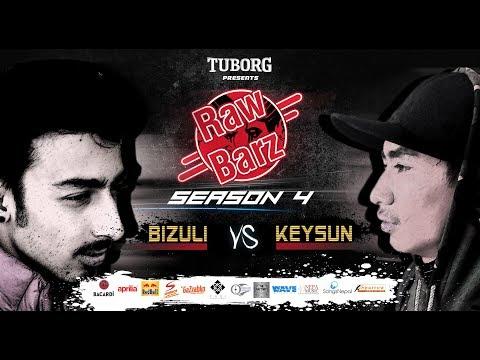 Keysun Vs Bizuli (Official Video)   Tuborg Presents RawBarz Rap Battle S4E5 2018
