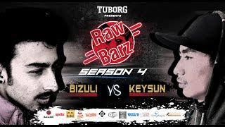 Keysun Vs Bizuli (Official Video) | Tuborg Presents RawBarz Rap Battle S4E5 2018