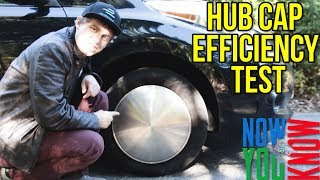 Nissan Leaf Hubcap Efficiency Test