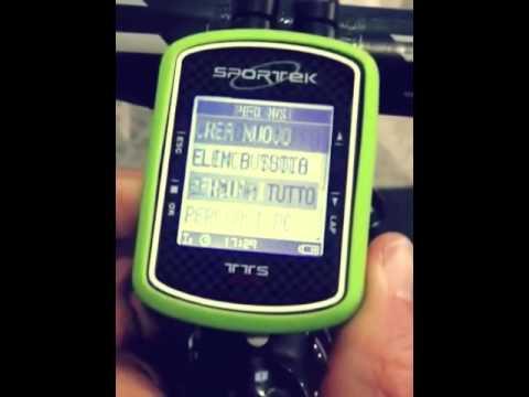 Ciclocomputer Sportek TTS GPS