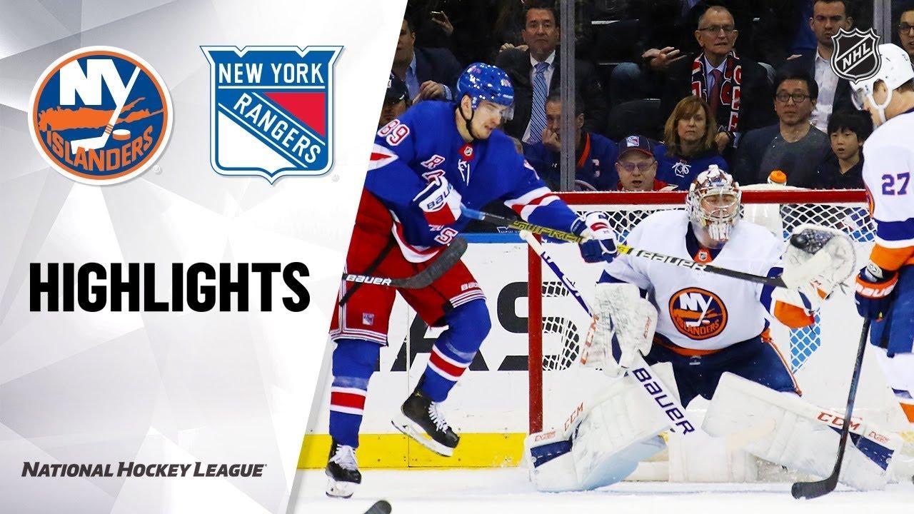 NHL Highlights | Islanders @ Rangers 1/13/20