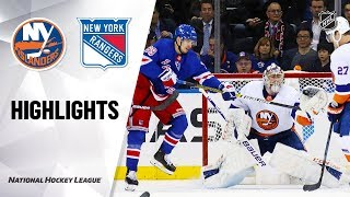 NHL Highlights | Islanders @ Rangers 1/13/20