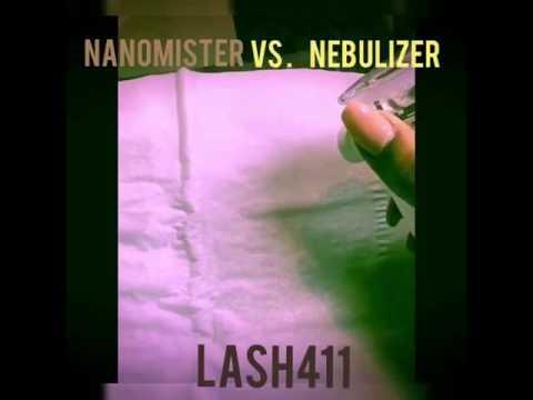 Nanomister vs Nebulizer