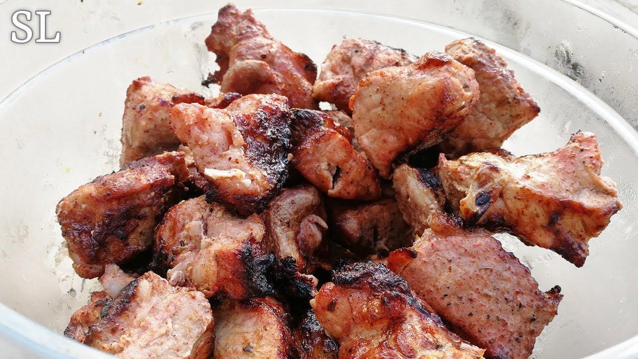 рецепт сочного шашлыка из свинины