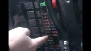 Замена предохранителя заднего хода на ВАЗ - Lada Granta