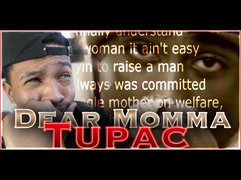 Tupac Shakur - Dear Mama | Lyrics | Reaction