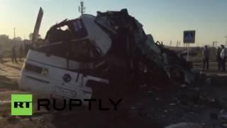 Video Russia: At least 9 killed, dozens injured in road accident in Dagestan download MP3, 3GP, MP4, WEBM, AVI, FLV Oktober 2018