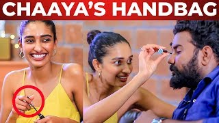 Chaaya's Handbag Secrets Revealed | Dayana Erappa | What's Inside the HANDBAG
