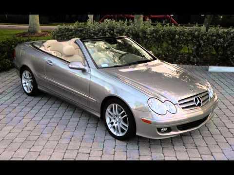 2008 mercedes benz clk350 convertible ft myers fl for sale for Mercedes benz 2008 for sale