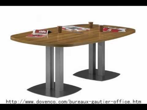 dovenco meuble de bureau meubles de r unions et de conf rences gautier youtube. Black Bedroom Furniture Sets. Home Design Ideas