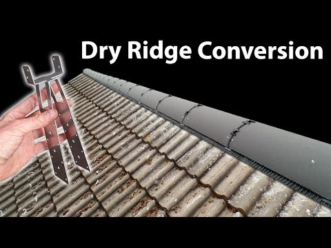 Replace or Re-lay Ridge Tiles - Install a Dry Ridge System