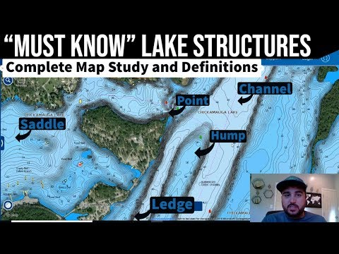 Key Lake Structures || Map Study || Lake Breakdown Practice