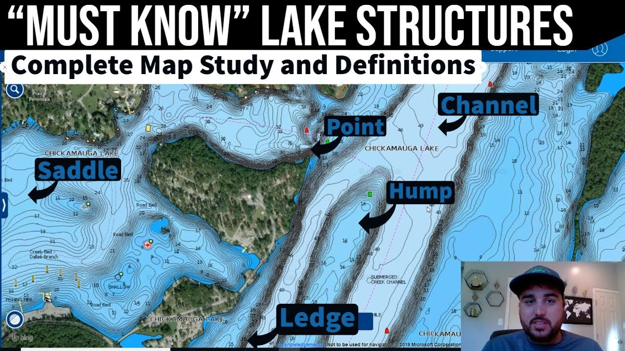 underwater maps of lakes Key Lake Structures Map Study Lake Breakdown Practice Youtube underwater maps of lakes