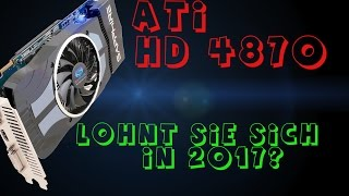 ATI Radeon HD 4870, 9 Jahre später   Kaufen, Ja oder Nein?   Rocket League, CSGO, Mirrors Edge   GER