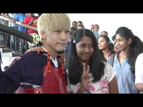 B-STATIONS in JAPAN EXPO SRILANKA 2017.02.03 - 05 LIVE Performance