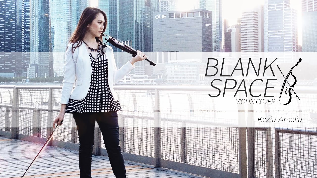Taylor Swift Blank Space Violin Cover By Kezia Amelia Youtube