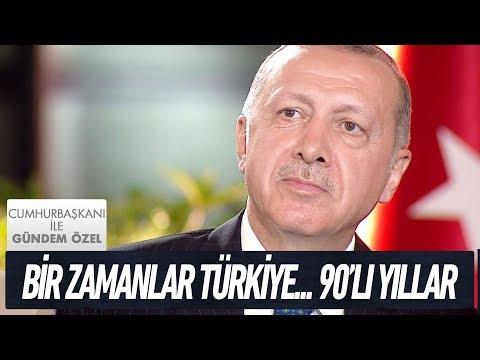 Cumhurbaşkanı Recep Tayyip Erdoğan'dan önce Türkiye nasıldı?- Cumhurbaşkanı İle Gündem Özel