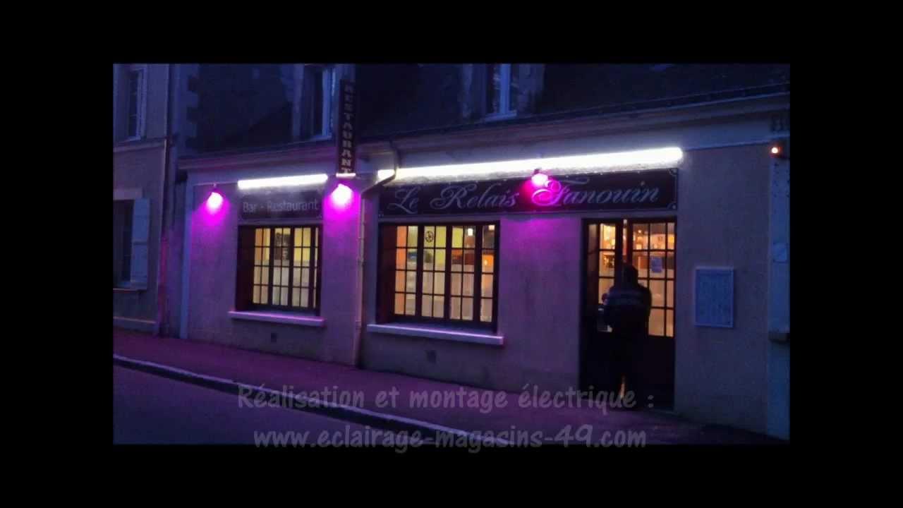 luminaire exterieur restaurant
