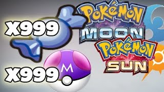 Pokémon Sun & Moon - Best Cheat Codes to play with (Action Replay & PowerSaves)