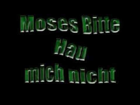 Moses bitte hau mich nicht mp3