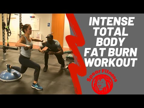 Total Body Fat Loss Workout (with Dumbbells!) Coach Lyonel Anderson