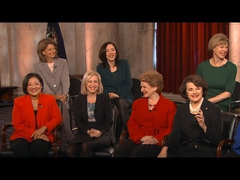 20 Female Senators Sworn In On Capitol Hill