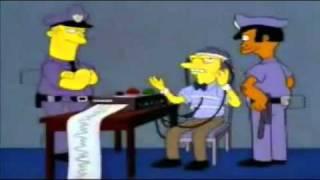 Die Simpsons- Moe beim Lügendetektor [ auf Deutsch ]