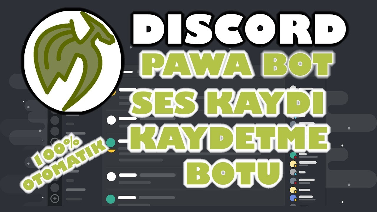 Audio Recorder Bot Discord