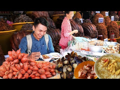 CHAU DOC MARKET - STREET FOOD PARADISE |An Giang Viet Nam Travel