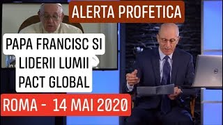"POPE AND ""THE GLOBAL PACT"" -14 MAI 2020"