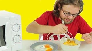 mikrodalgada yumurta nasl yaplr