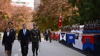 Cumhurbaşkanı Gül, TBMM'nin 24. Dönem 4. Yasama Yılı açılış konuşması için TBMM'de-01.10.2013