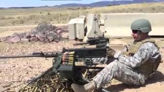 M2 Browning 50.Cal Machine Gun - Shooting