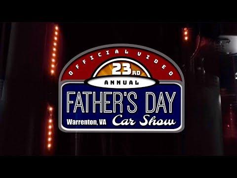23rd Annual Father's Day Car Show Warrenton Virginia, 2019