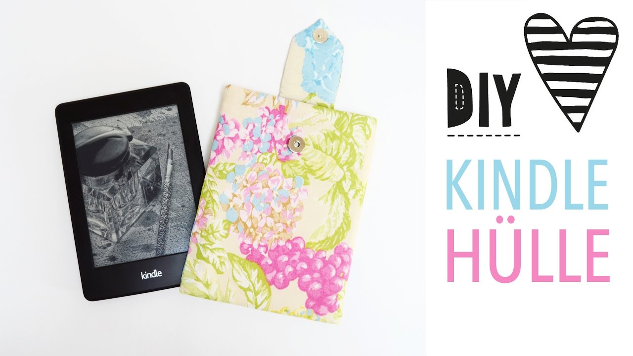 Hülle für Kindle oder Tablet nähen mit Schnittmuster / DIY MODE ...
