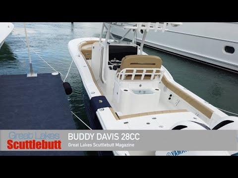 NEW Buddy Davis 28CC Walkthrough! @The 2020 Miami International Boat Show!