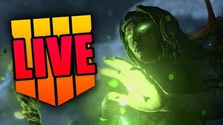 BLACK OPS 4 ZOMBIES GAMEPLAY TRAILER: SOLVING ALL SECRETS *LIVE* WITH YOU!!