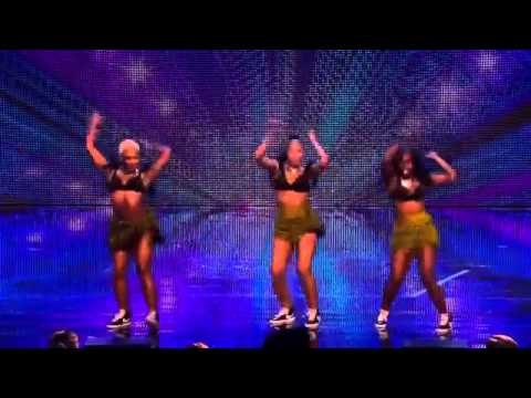 AFRICAN DANCERS ON BRITAIN'S GOT TALENT