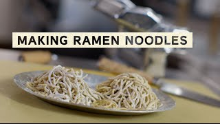 How To Make Ramen Noodles With Ivan Orkin